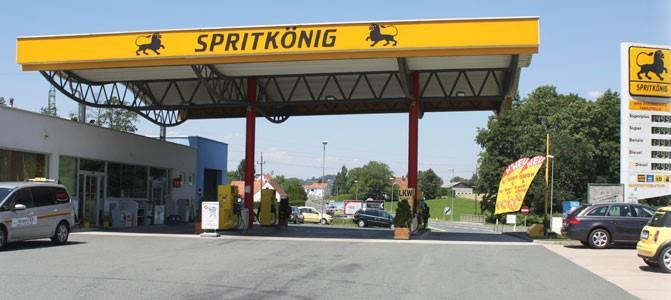 Tankstelle Spritkönig